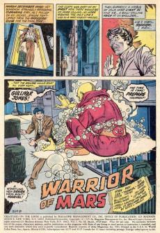 Extrait de Creatures on the Loose (Marvel - 1971) -16- Gullivar Jones---Warrior of Mars!