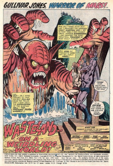 Extrait de Creatures on the Loose (Marvel - 1971) -18- The Fury of Phra!