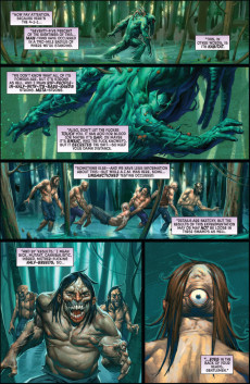 Extrait de Dead of Night Featuring Man-Thing (Marvel MAX -2008) -4- (sans titre)