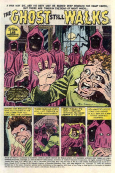 Extrait de Dead of Night Vol.1 (Marvel - 1973) -1- A Haunted House Is Not a Home...