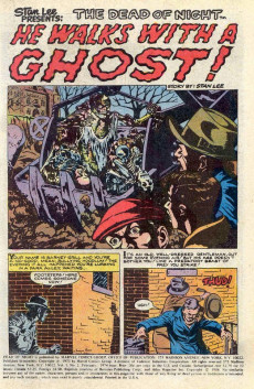 Extrait de Dead of Night Vol.1 (Marvel - 1973) -2- The House That Fear Built!