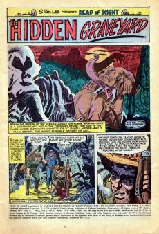 Extrait de Dead of Night Vol.1 (Marvel - 1973) -3- They Lurk Below!