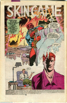 Extrait de Power of the Atom (1988) -14- The Traumatic Return of the Reusable Man!