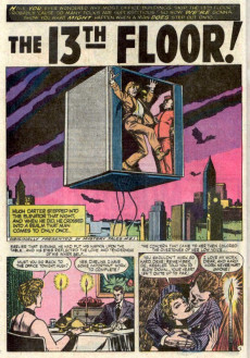 Extrait de Dead of Night Vol.1 (Marvel - 1973) -7- The 13th Floor!