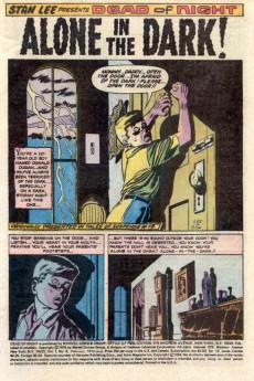 Extrait de Dead of Night Vol.1 (Marvel - 1973) -8- Midnight Brings Dark Madness!