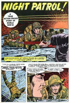 Extrait de Marines in action (Atlas - 1955) -2- Night Patrol