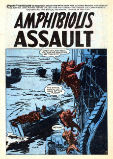 Extrait de Marines in action (Atlas - 1955) -6- Captured by the Commies!