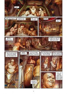 Extrait de Les reines de sang - Cléopâtre, la Reine fatale -3- Volume 3