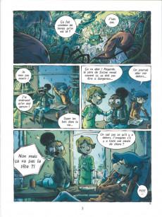 Extrait de Sixtine -3- Le salut du pirate