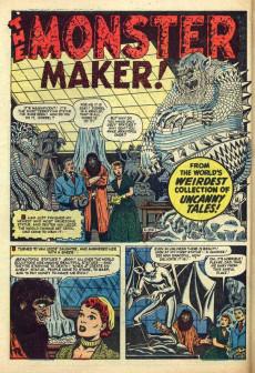Extrait de Uncanny Tales Vol.1 (Atlas - 1952) -2- The Man Who Melted