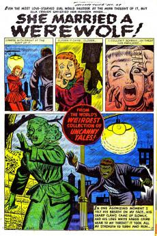 Extrait de Uncanny Tales Vol.1 (Atlas - 1952) -4- She Married a Werewolf