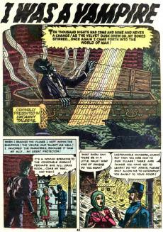 Extrait de Uncanny Tales Vol.1 (Atlas - 1952) -6- He Lurks in the Shadows!