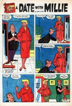 Extrait de A Date with Millie Vol.1 (Marvel - 1956) -5- (sans titre)