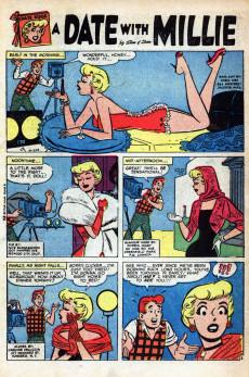 Extrait de A Date with Millie Vol.1 (Marvel - 1956) -6- (sans titre)