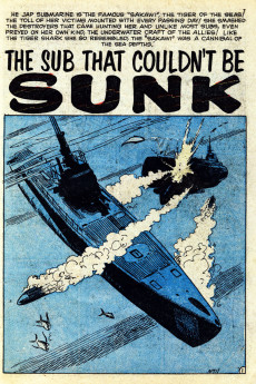 Extrait de Navy Action (Atlas - 1957) -18- The Sub That Couldn't Be Sunk!