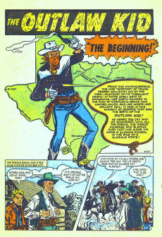 Extrait de Outlaw Kid Vol.1 (The) (Atlas - 1954) -1- (sans titre)