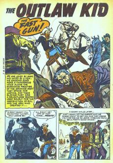 Extrait de Outlaw Kid Vol.1 (The) (Atlas - 1954) -2- (sans titre)