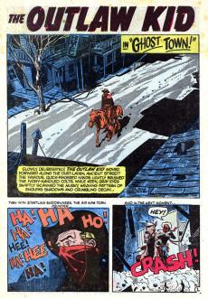 Extrait de Outlaw Kid Vol.1 (The) (Atlas - 1954) -4- Death Battle