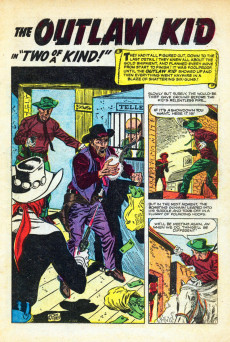 Extrait de Outlaw Kid Vol.1 (The) (Atlas - 1954) -5- (sans titre)