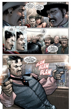 Extrait de Rawhide Kid: The sensational seven (Marvel - 2010) -2- The Smelly The Nasty The Fabulous!