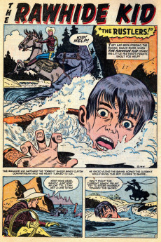 Extrait de Rawhide Kid Vol.1 (Atlas/Marvel - 1955) -3- Rustlers!