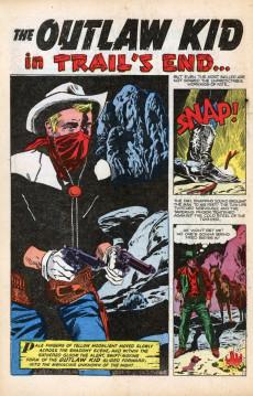 Extrait de Outlaw Kid Vol.1 (The) (Atlas - 1954) -6- Trail's End
