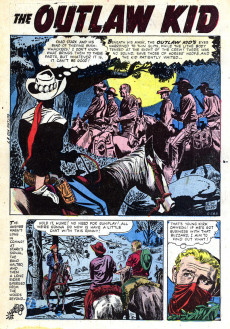 Extrait de Outlaw Kid Vol.1 (The) (Atlas - 1954) -7- Gunman's Return!