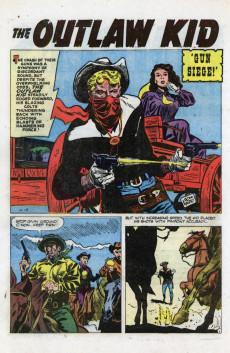 Extrait de Outlaw Kid Vol.1 (The) (Atlas - 1954) -9- Gun Siege!