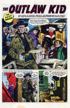 Extrait de Outlaw Kid Vol.1 (The) (Atlas - 1954) -10- Stand Up and Fight!