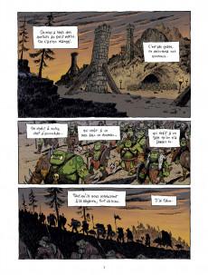 Extrait de Donjon Antipodes --10000- L'Armée du Crâne