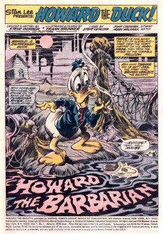 Extrait de Howard the Duck (1976) -1- Trapped In A World He Never Made!