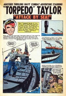 Extrait de Navy Combat (Atlas - 1955) -1- Attack by Sea!
