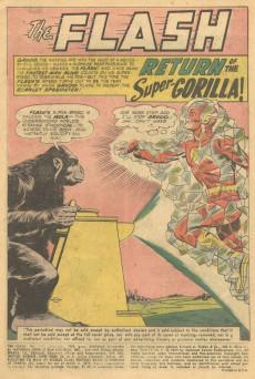 Extrait de Flash (The) Vol.1 (DC comics - 1959) -107- Amazing Race Against Time!