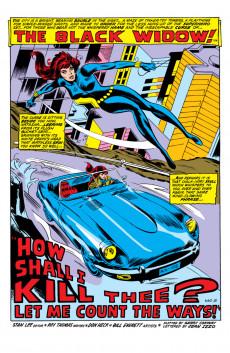 Extrait de Amazing Adventures Vol.2 (Marvel - 1970) -8- Black Bolt vs. Thor / The Web of the Black Widow!