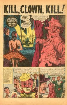 Extrait de Uncanny Tales Vol.1 (Atlas - 1952) -7- Kill, Clown, Kill!