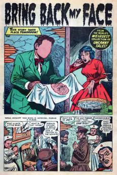 Extrait de Uncanny Tales Vol.1 (Atlas - 1952) -8- Bring Back My Face!