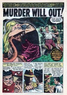 Extrait de Uncanny Tales Vol.1 (Atlas - 1952) -10- The Man Who Came Back to Life!