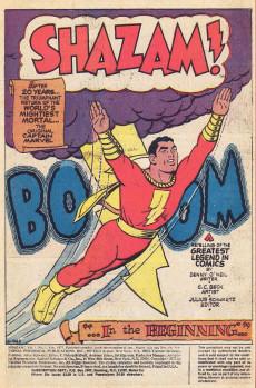 Extrait de Shazam (DC comics - 1973) -1- The Original Captain Marvel