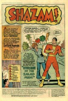 Extrait de Shazam (DC comics - 1973) -10- The Prize Catch of the Year