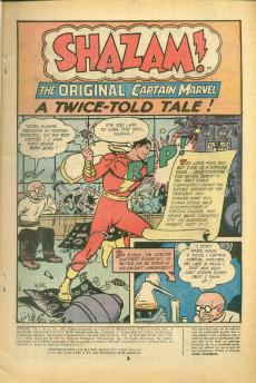 Extrait de Shazam (DC comics - 1973) -8- The Greatest Stories of the World's Mightiest Mortals!