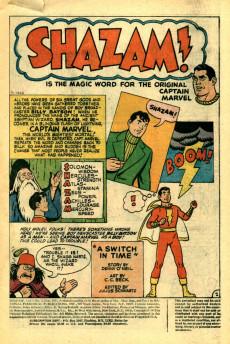 Extrait de Shazam (DC comics - 1973) -3- A Switch in Time
