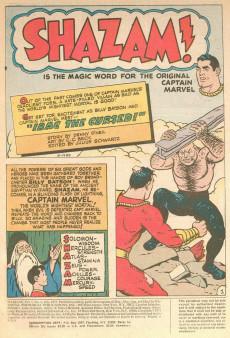 Extrait de Shazam (DC comics - 1973) -4- The Mirrors That Revealed the Future!