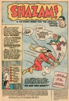 Extrait de Shazam (DC comics - 1973) -5- The Man Who Wasn't!