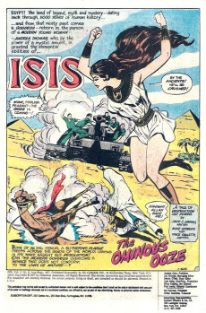 Extrait de Mighty Isis (The) (DC comics - 1976) -6- The Ominous Ooze