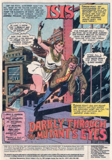 Extrait de Mighty Isis (The) (DC comics - 1976) -8- Darkly through the Mutant's Eyes