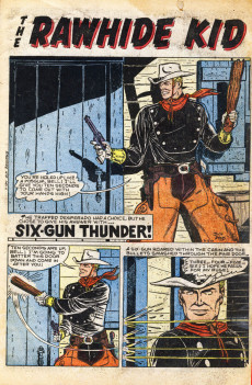 Extrait de Rawhide Kid Vol.1 (Atlas/Marvel - 1955) -11- Gun-Thunder!