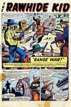 Extrait de Rawhide Kid Vol.1 (Atlas/Marvel - 1955) -12- Range War!