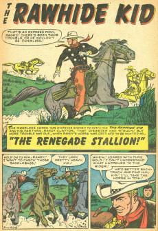 Extrait de Rawhide Kid Vol.1 (Atlas/Marvel - 1955) -13- Condemned!