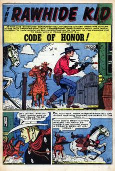 Extrait de Rawhide Kid Vol.1 (Atlas/Marvel - 1955) -14- The Kid Fights Again!