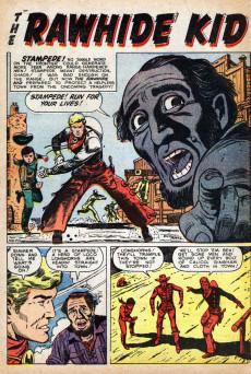 Extrait de Rawhide Kid Vol.1 (Atlas/Marvel - 1955) -16- Desperate Decision!